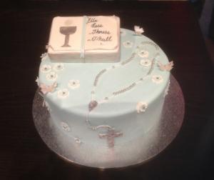 communion cake for girl